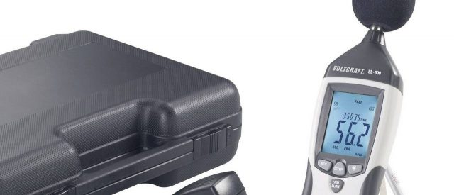 Professzionális rezgésmérő és a tárolódoboza